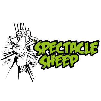 spectacle sheep logo band