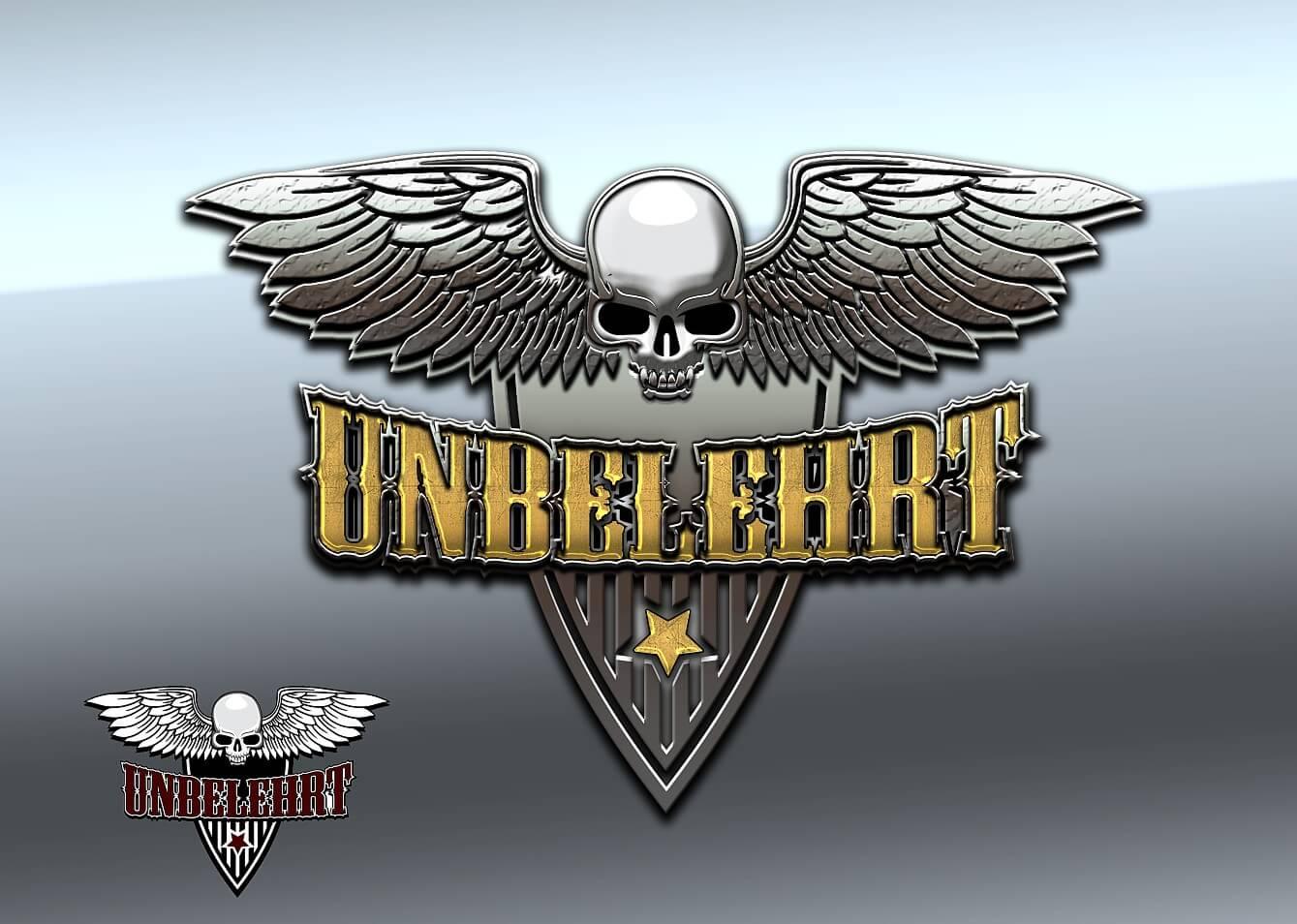 unbelehrt band logo