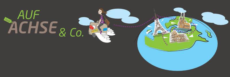 Auf Achse & Co Reiseblog Logo