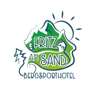 Ausgefallenes Restaurant Logo Fritz am Sand