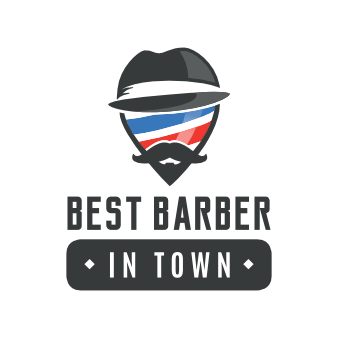 Barber Shop Logo Best Barber in Town