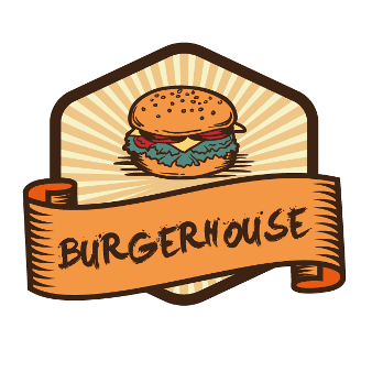 Burger Logo Restaurant Logo Burgerhouse