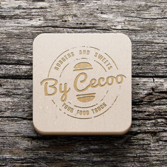 By Cecoo Burger Restaurant Logo