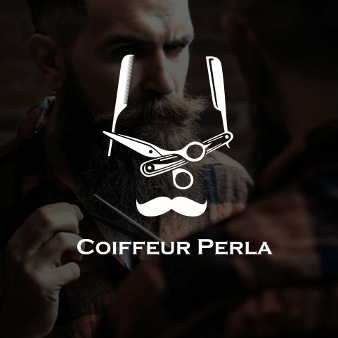 Coiffeur Logo Perla