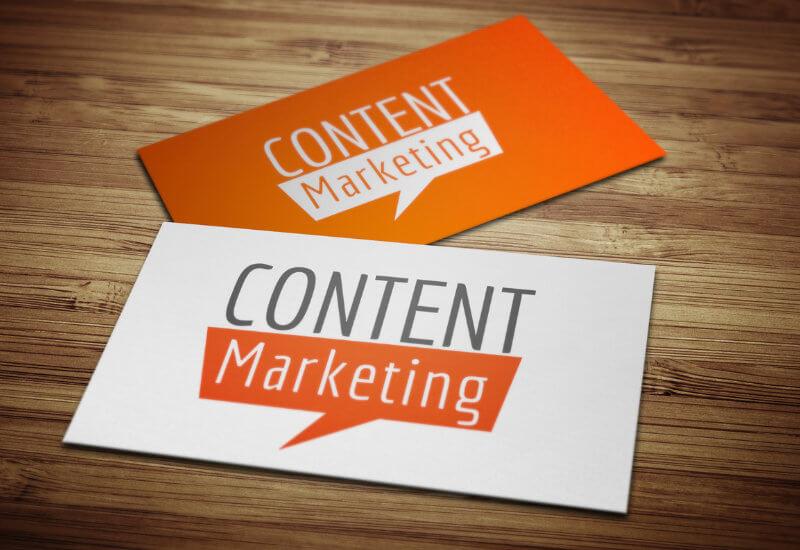 Content Marketing Logo Blog