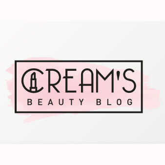 Creams Beauty Blog Design