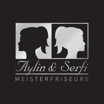 Frisör Logo Aylin und Serfi