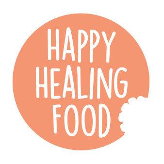 Happy Healing Food Freizeit Blog Logo Design