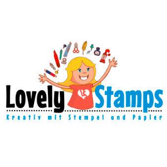 Kreativblog Lovely Stamp Logo Design