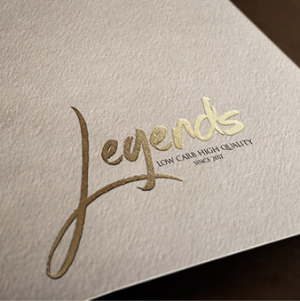 Legends Restaurant Logo Design