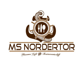 MS Nordertor Restaurant Logo Design