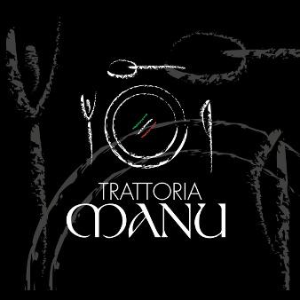 Pizzeria Logo Design Trattoria Manu