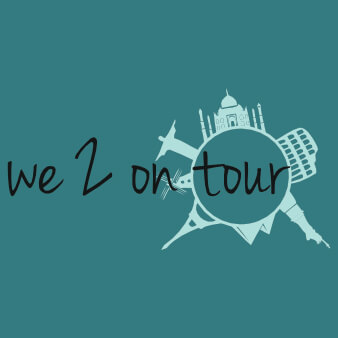 Reiseblog Logo We 2 on tour