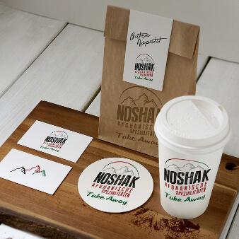 Restaurant Logo Afghanisch Noshak