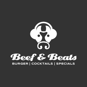 Restaurant Logo Burger Beef & Beats