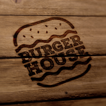 Restaurant Logo Burger House