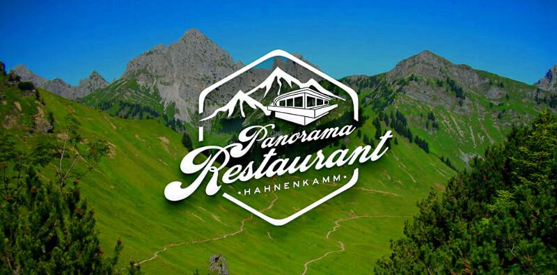 Restaurant Logo Restaurant Hahnenkamm