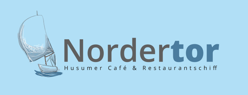 Restaurantschiff Nordertor Restaurant Logo Design