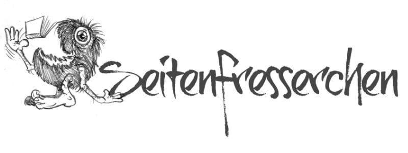 Seitenfresserchen Blog Design Logo