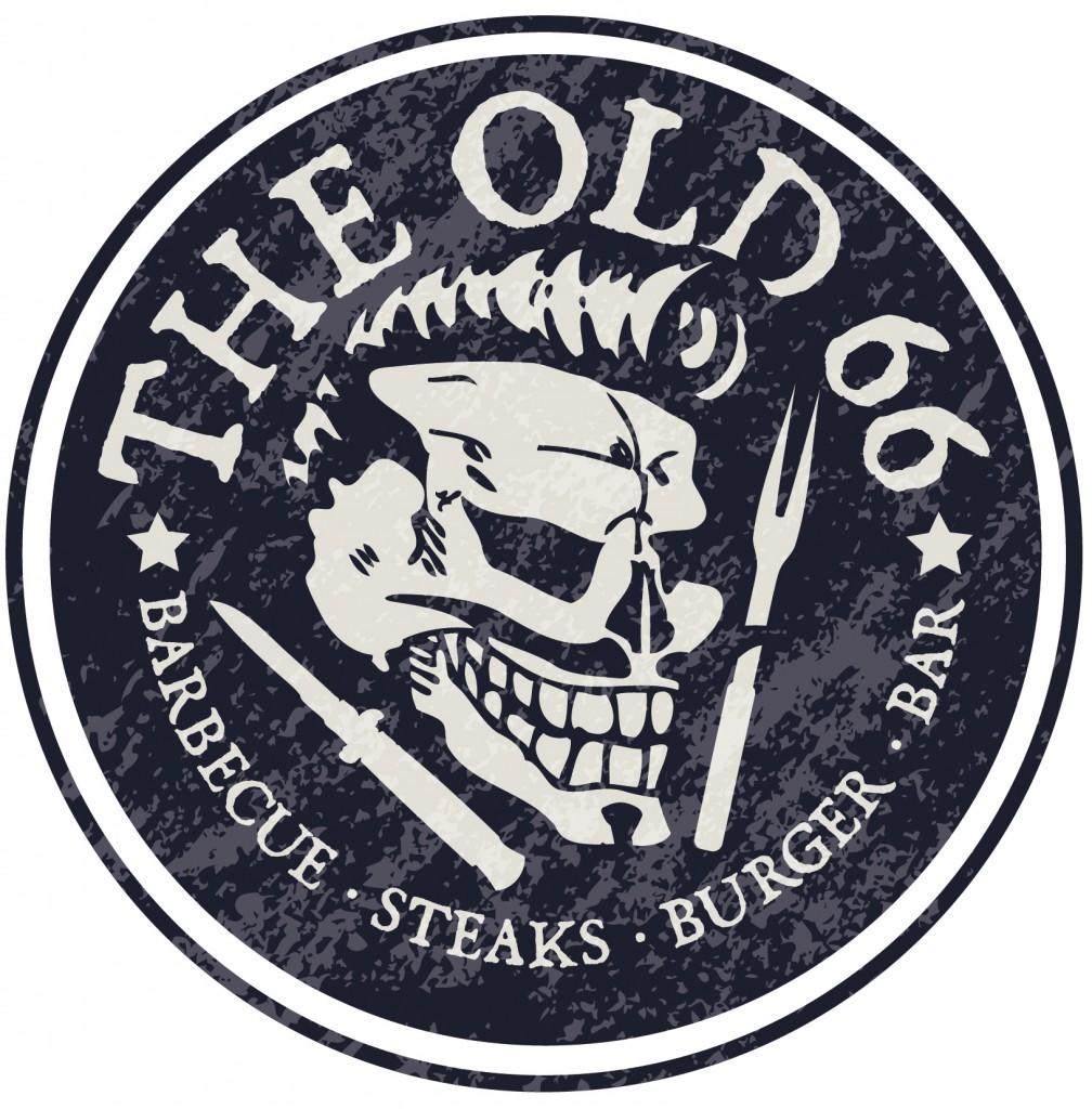 Hipster Font Logo Design the old 66