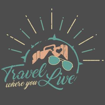 Travel where you live Logo