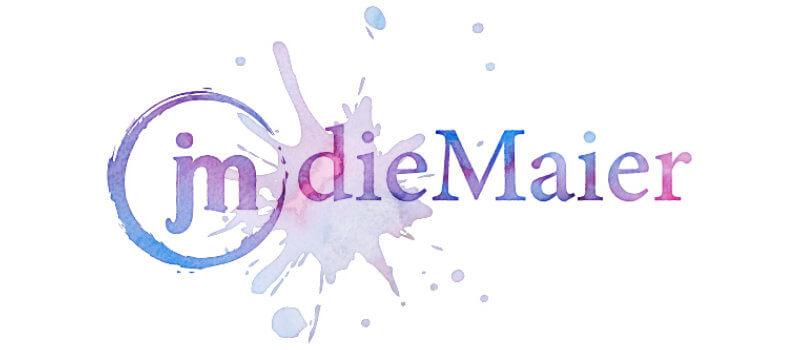 die Maier Blog kreativ Logo Design