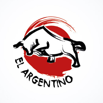 steakhouse logo el argentino
