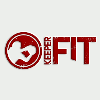 fitness keeper logo design fußball
