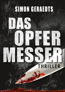 Das Opfermesser Thriller Cover-Design