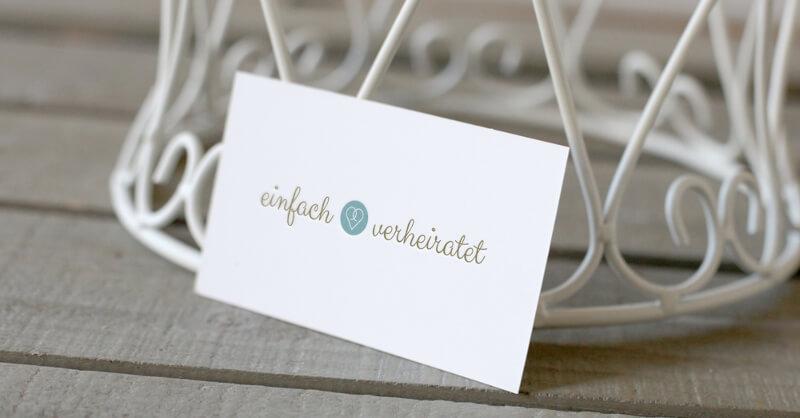 Einfach Verheiratet Logo-Design für Hochzeitsplanung 689385