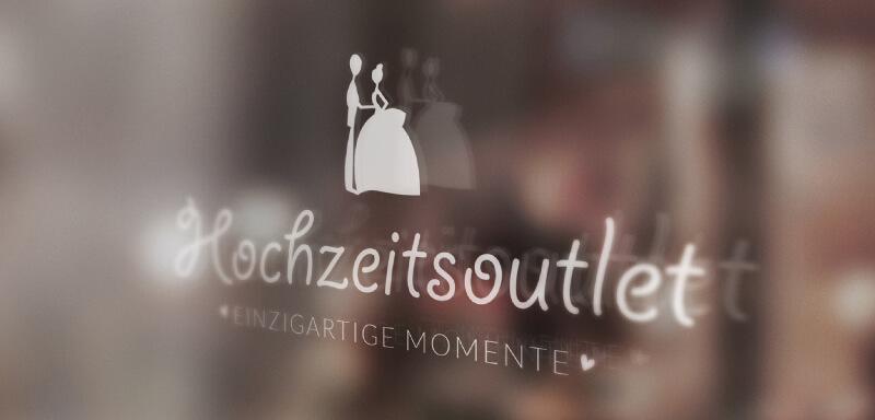 Hochzeits-Online-Shop Hochzeitsoutlet Logo-Design 156439