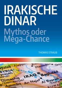 Irakische Dinar Sachbuch E-Book Cover Design