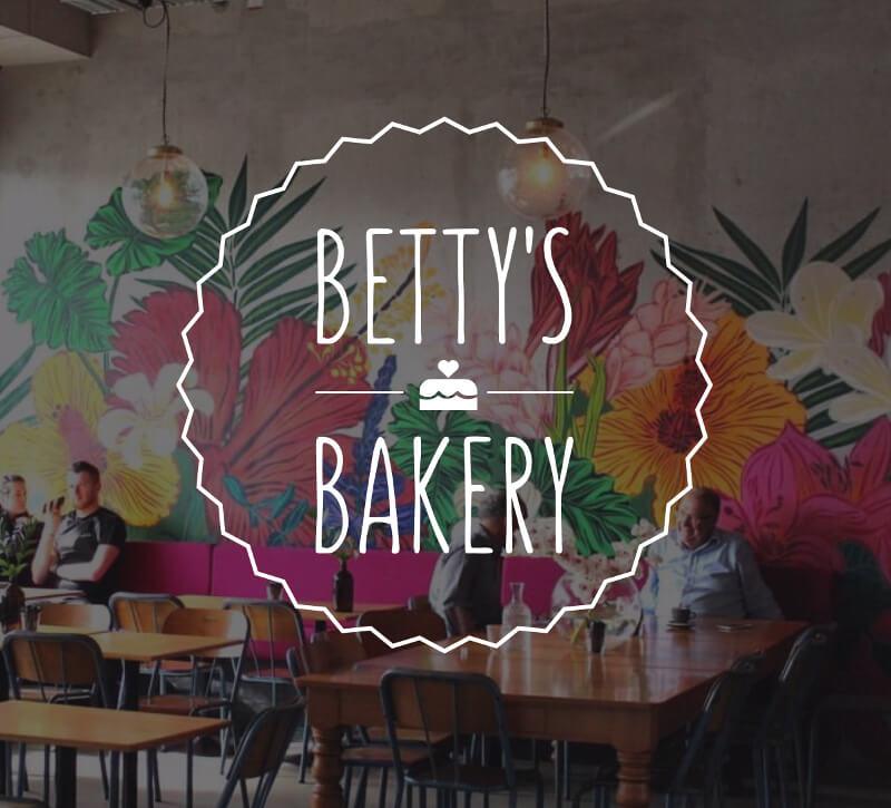 Logo-Design Bettys Bakery Schwungvolles Hochzeitslogo 631696