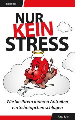 Sachbuch eBook Cover Design Nur Kein Stress