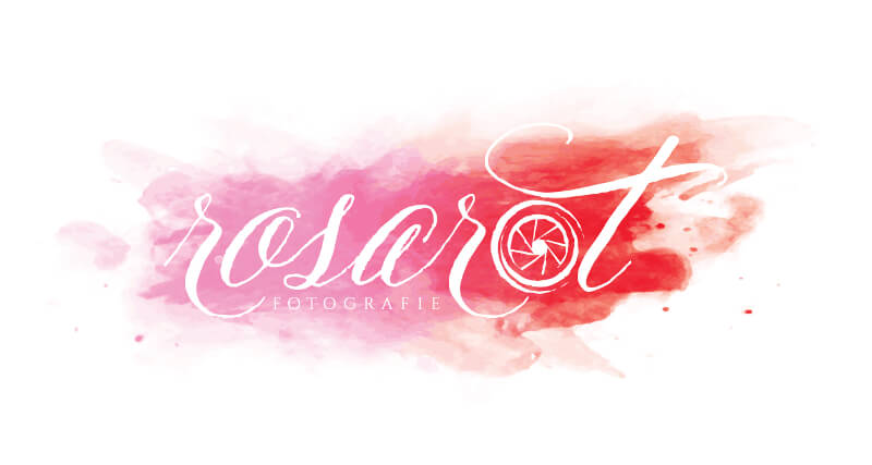 Rosa Rot Fotografie Hochzeitsfotograf Logo 724892
