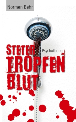 Thriller eBook Cover Design Steter Tropfen Blut