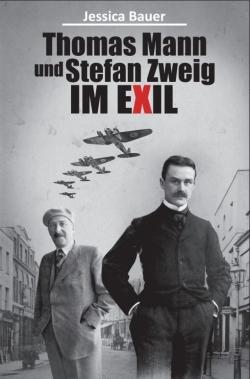 Thomas Mann und Stefan Zweig im Exil eBook Cover Design Sachbuch