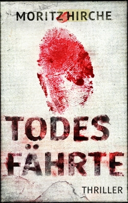 Todesfährte E-Book Cover-Design Thriller