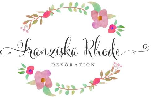 Blumen Dekoration Logo