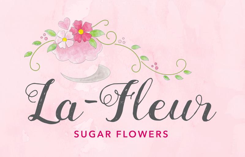 Blumen Logo La Fleur Sugar Flowers Zuckerblumen 389348