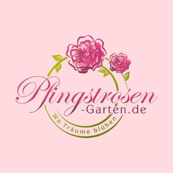 Blumen Logo Pfingstrosen 886524