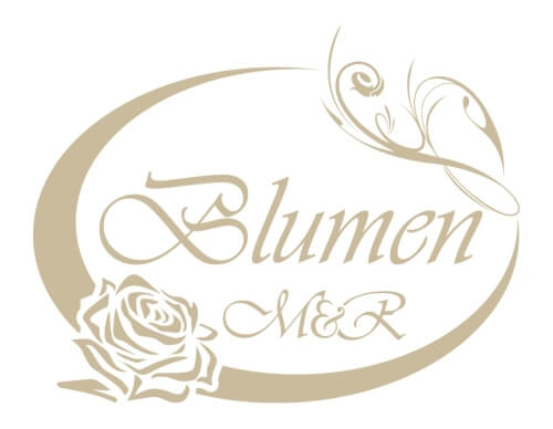 Blumen M&R Logo-Design
