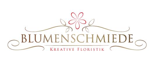 Blumenladen Logo Blumenschmiede
