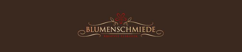 Blumenladen Logo Design Blumenschmiede 684232
