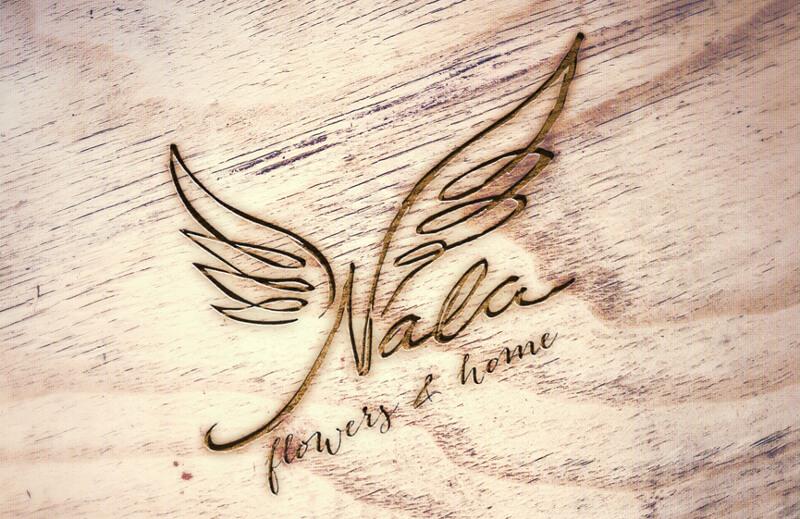 Blumenladen Logo Design Nala 493587