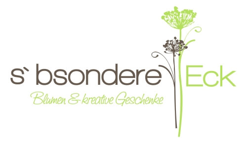 Blumenladenlogo bsondere Eck