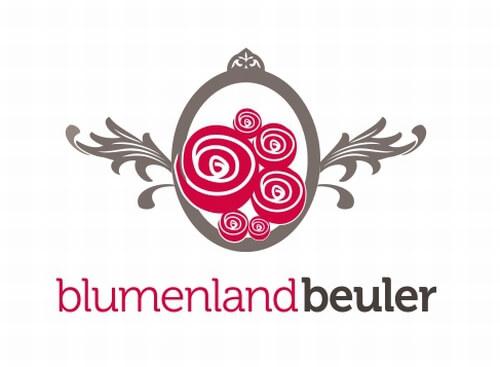 Blumenland beuler Blumenladen Logo