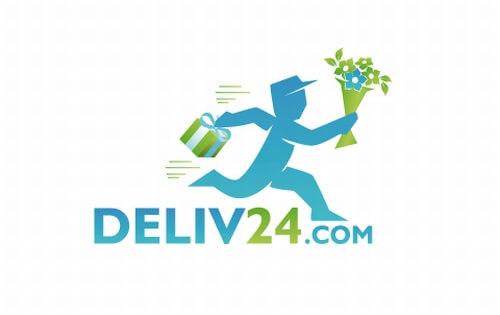 Deliv24 Blumen Logo