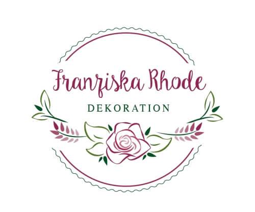 Franziska Rhode Blumen Logo
