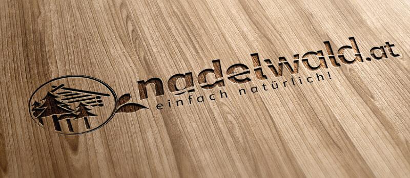 Gartenbau Landschaftsbau Logo Design Nadelwald 286457